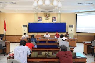 Rapat Koordinasi tentang Pelonggaran PSBB dengan Para Pelaku Usaha di Bidang Perdagangan dan Pariwisata - Tarakan Info