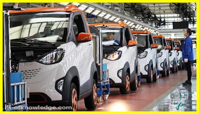 الصين تضم أكثر من 320 ألف شركة لصناعة السيارات الكهربائية !