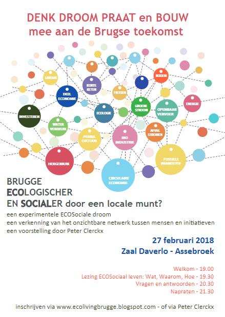 Is Brugge klaar voor een eco-sociale munt? @ Daverlo | Brugge | Vlaanderen | België