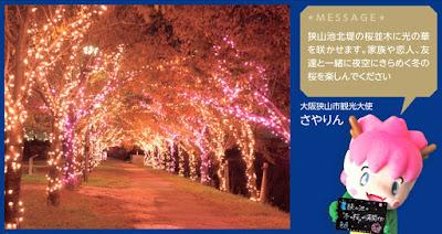 桜まつり ~冬~ 大阪狭山イルミネーション2019(大阪狭山市)