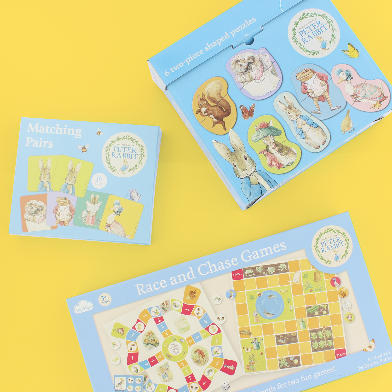 Win Beatrix Potter Games & Puzzles From Milly & Flynn ♥