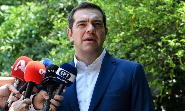 Αλέξης Τσίπρας: Δεν θα επιτρέψουμε τουρκική γεώτρηση στην ελληνική ΑΟΖ