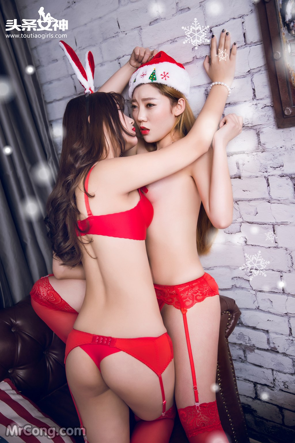 Image MrCong.com-TouTiao-2016-12-24-He-Jiao-Jiao-and-Yao-Yao-001 in post TouTiao 2016-12-24: Người mẫu He Jiao Jiao (何娇娇) và Yao Yao (药药) (41 ảnh)