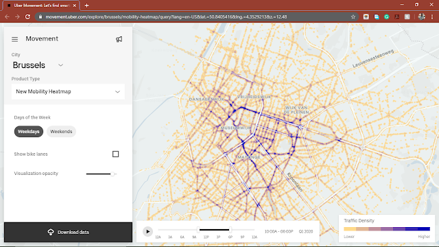 Uber's Mobility Heat Maps Give Insight Into Micro Mobility Trends In Cities