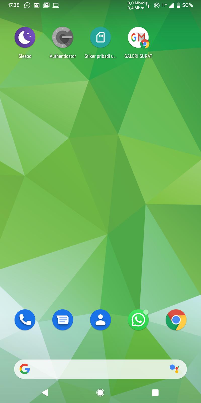 Manifest Aplikasi Web Blog