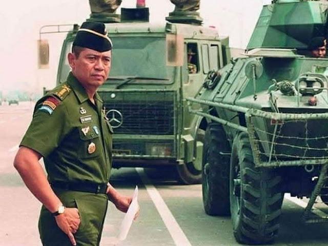 Nasib Karier Militer SBY, Jenderal TNI Tercerdas Tanpa Bintang 4
