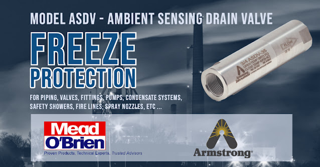 The Armstrong ASDV Ambient Sensing Drain Valve