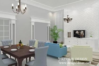 Design Ruang Keluarga Klasik Murah Berpengalaman