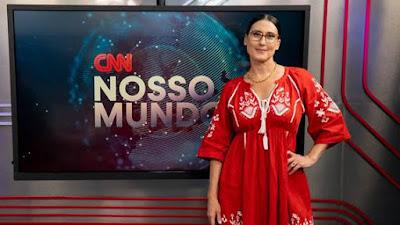 """Paola Carosella é a entrevistada do """"CNN Nosso Mundo"""" desta sexta-feira (12)_ Divulgação/CNN Brasil"""
