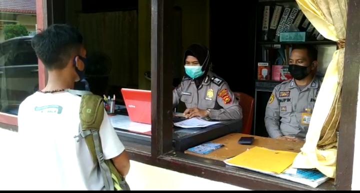 Warga SAD Bukit 12 ikut berkompetisi penerimaan Polisi ditahun 2021