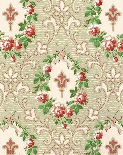rose flower wreath background digital scrapbook shabby chic