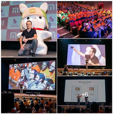 Fotos do evento de lançamento da Xiaomi no Brasil