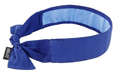 Perfect Gadgets To Keep You Cool - Evaporative Cooling Bandana with Cooling Towel