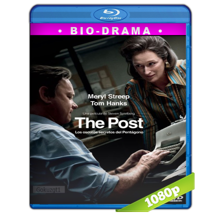 The Post Los Oscuros Secretos Del Pentagono (2017) BRRip Full 1080p Audio Trial Latino-Castellano-Ingles 5.1