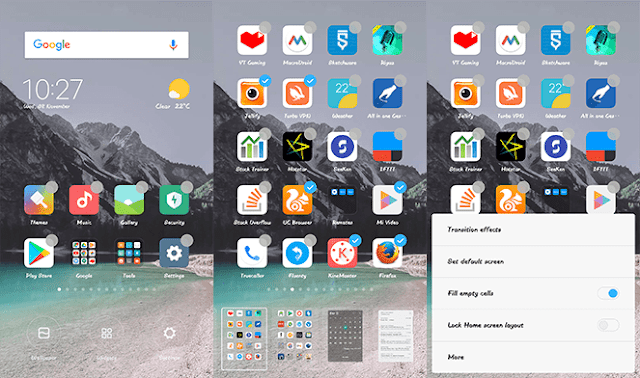 Better & Easy Home Screen Editing