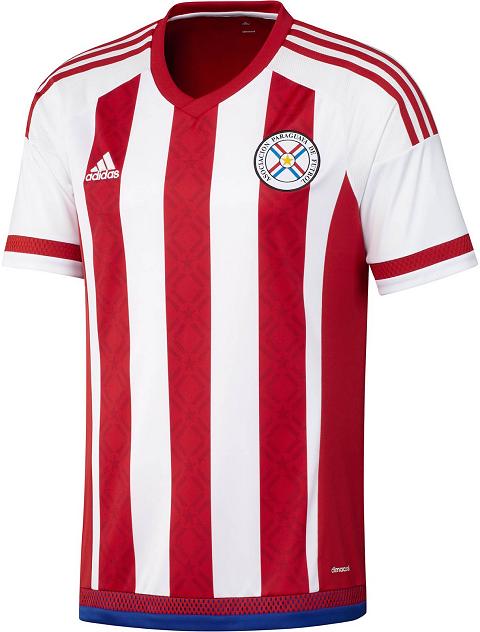 6c7e8e0760aef Adidas lança camisa titular da seleção do Paraguai - Show de Camisas