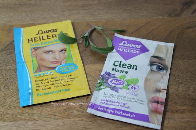 Masken-Neuheiten von Luvos: SOS Detox & Clean