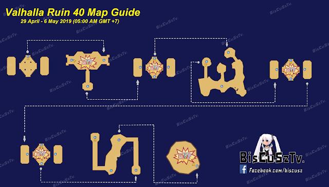 Map Valhalla Ruins 29 April sampai 6 Mei 2019 Ragnarok Mobile Eternal Love