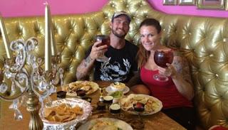 Cm Punk With Ex Girlfriend Lita