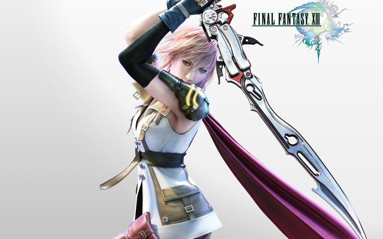 Video Game Gallery Final Fantasy 13 Wallpaper
