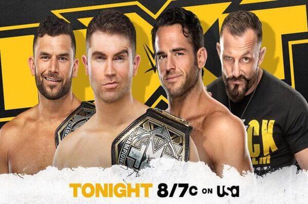 عرض NXT الاخير 21/10/2020 كامل