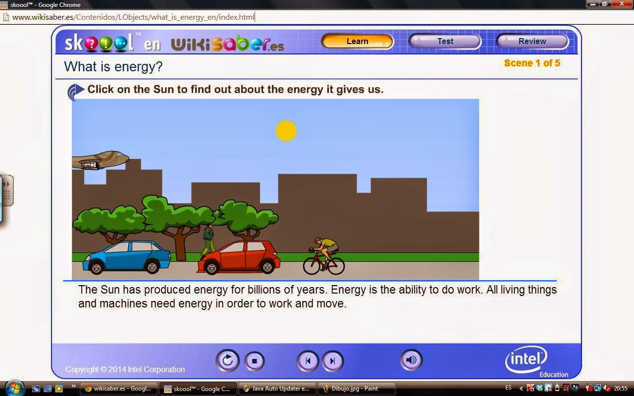 Mrs Eva S 4th And 5th Grade Class Forms Of Energy