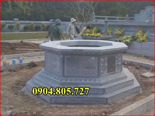 Mộ hình lục giác bằng đá - 210951