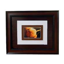 Yellow Rose Brown Wall Frame Nigeria