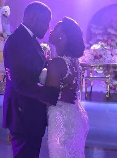 Checkout Beautiful Photos from John Dumelo & Gifty Mawunya white wedding