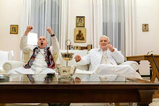 I due papi - Anthony Hopkins e Jonathan Pryce