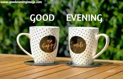 Good evening with coffee images