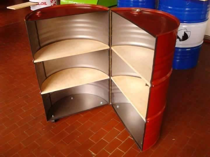 7 Furniture Keren Dan Unik Ini Terbuat dari Limbah Drum Bekas Loh...
