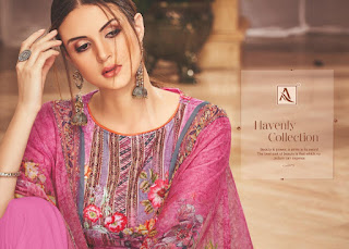 Alok Suits Ankan Velvet Viscose Salwar Kameez