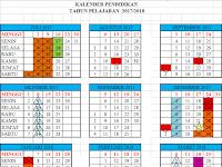 Download Kalender Pendidikan Tahun Ajar 2017/2018