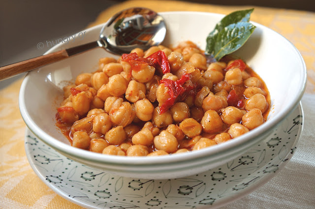 Chickpea Stew with Oven-Dried Tomatoes