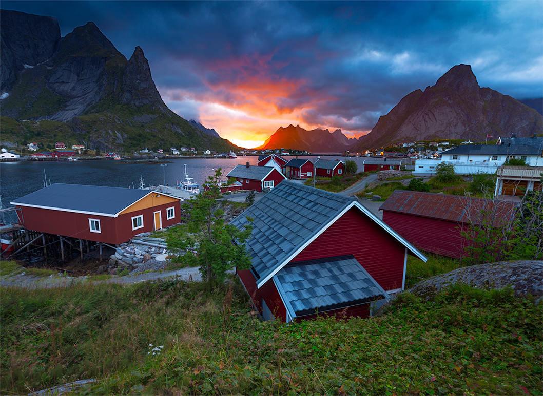 Рейне в Норвегии