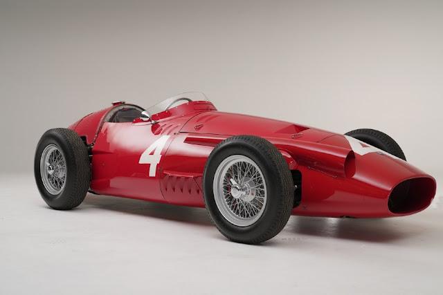 Maserati 250F 1950s F1 car