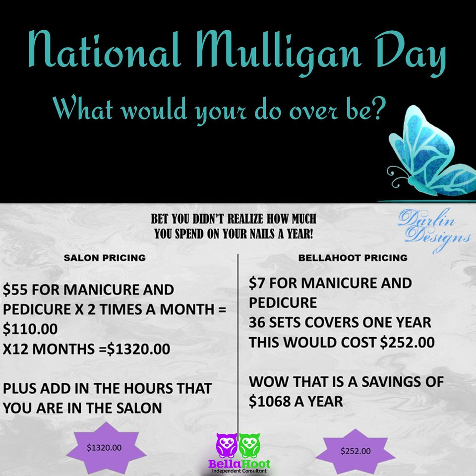 National Mulligan Day Wishes Awesome Picture