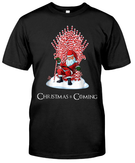 Santa Candy Cane Christmas Is Coming T Shirt, Santa Candy Cane Christmas Is Coming T Shirt Hoodie Sweatshirt,