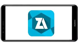 تنزيل برنامج ZArchiver Pro mod Donate الازرق مدفوع مهكر بدون اعلانات بأخر اصدار من ميديا فاير