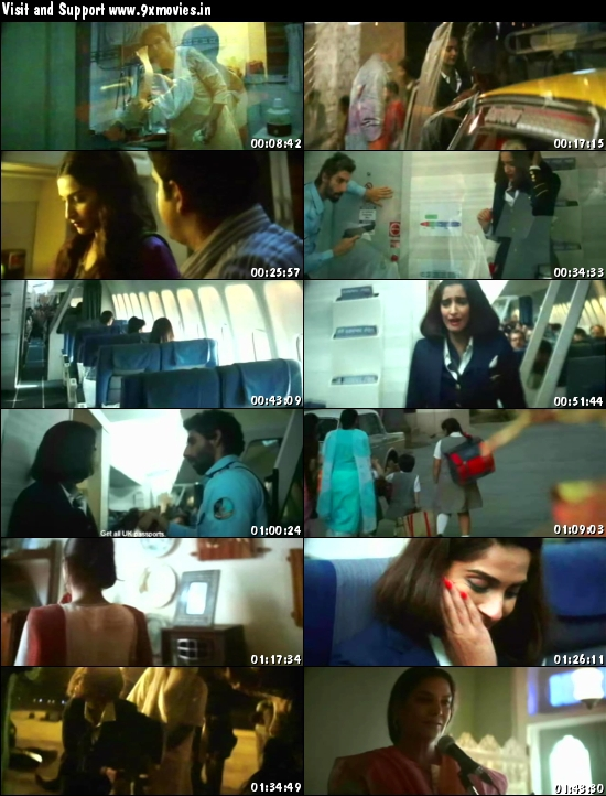 Neerja 2016 Hindi 480p DVDScr 300mb