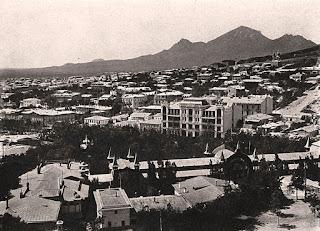 Вид на Отель Бристоль, Пятигорск, начало 20-го века