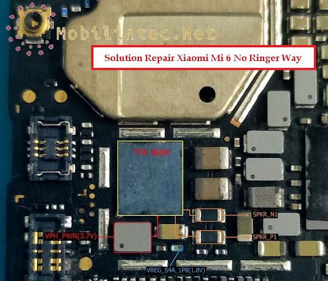 Solution Repair Android Xiaomi Mi 6 No Ringer