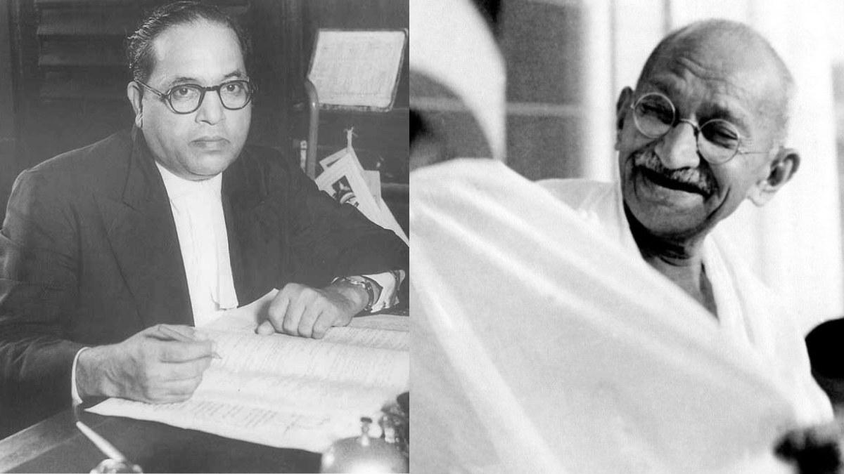 Ambedkar and gandhi Biography of ambedkar