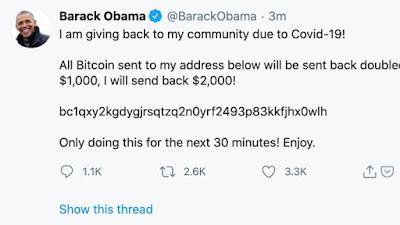 Obama hackte