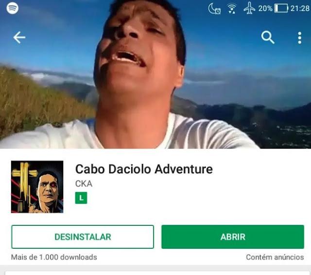 Tem Na Web - Cabo Daciolo vira herói de game anti-illuminat