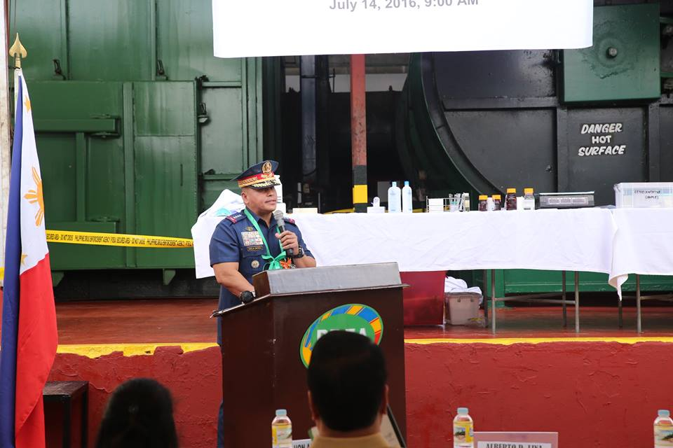 Gen. 'Bato' burns down billions worth of shabu