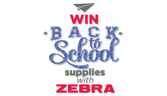 Zebra is giving away a backpack each week filled up with school supplies to help get your little one back to school with everything they need!