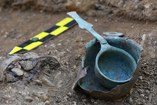 Unique grave of Roman-era warlord found in Czech Republic