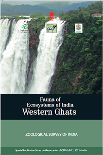 Fauna of Ecosystems of India Western ghats, free ebook